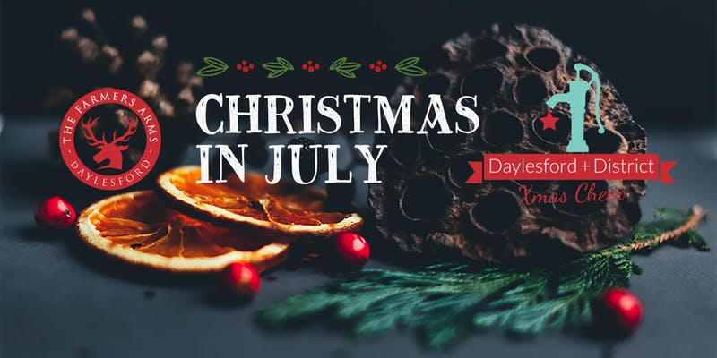 Christmas Cheer.Christmas In July Supporting Daylesford District Xmas Cheer Visit Hepburn Shire Including Clunes Creswick Daylesford Hepburn Springs Trentham